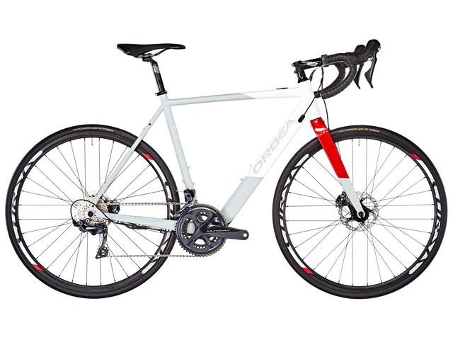 ORBEA Gain D20 Bici da corsa elettrica grigio/bianco